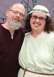 Sarah and Andrew Hodgson